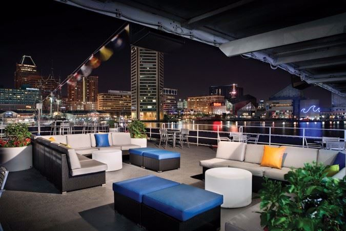 The largest outdoor patio deck in the city