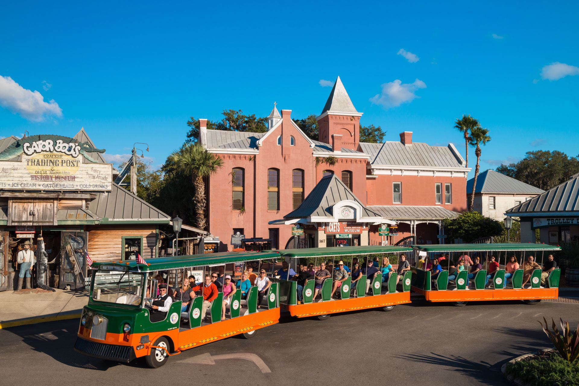Old Town Trolley Tours of St Augustine