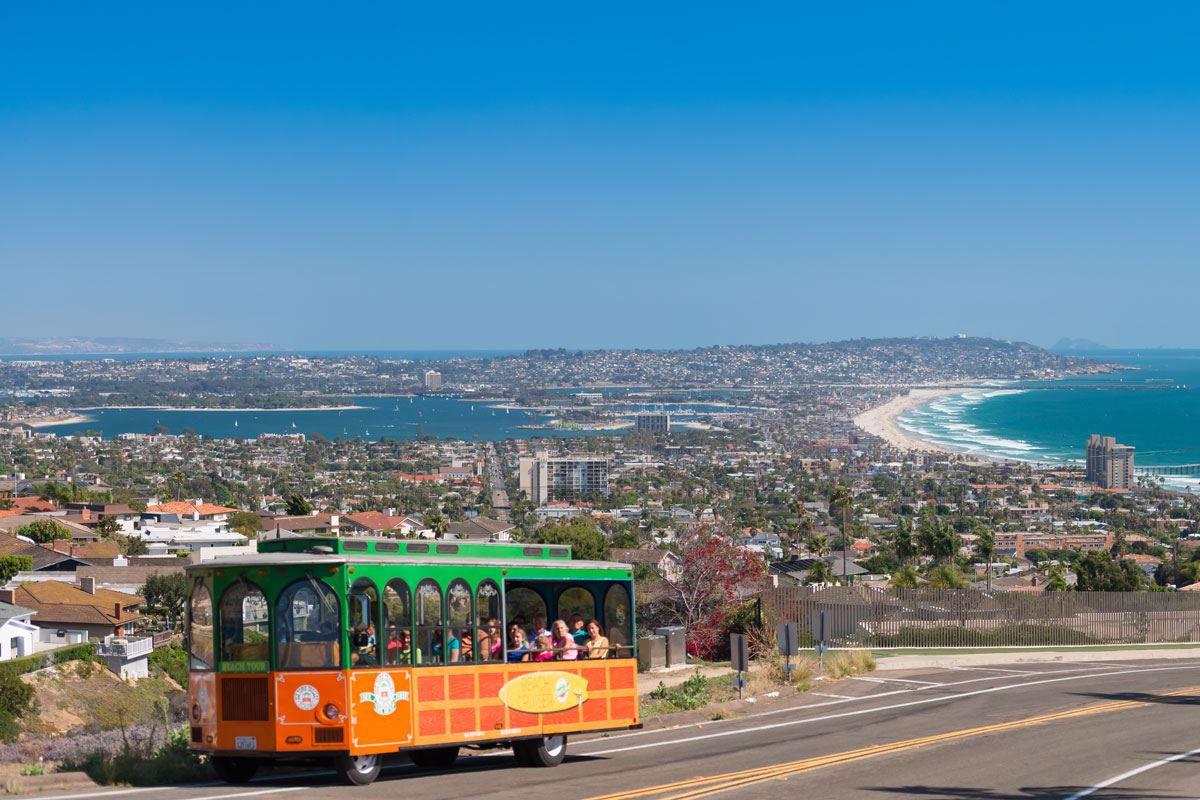 Old Town Trolley La Jolla and Beaches