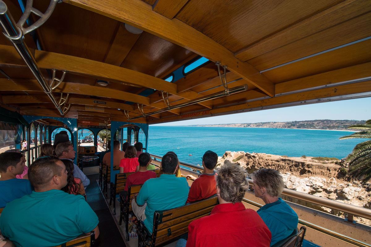 Visit San Diego's Beaches aboard the trolley