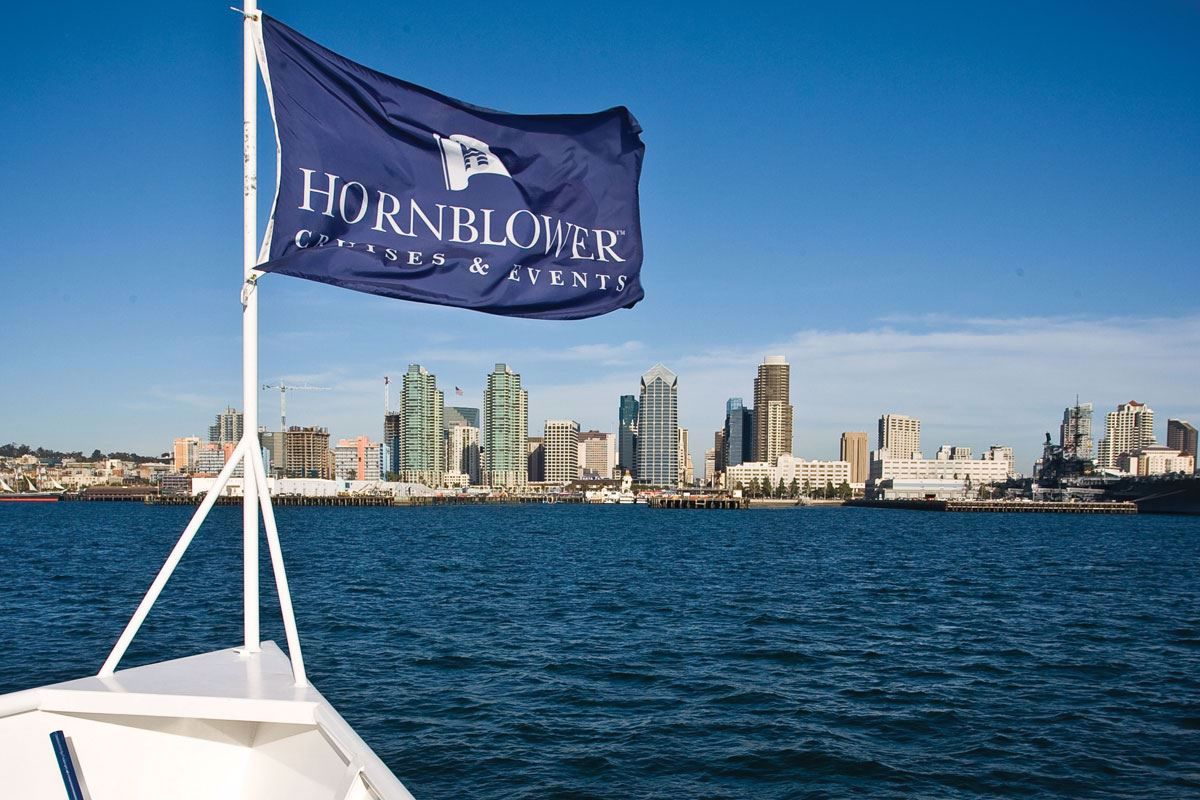 You will appreciate the style and excellence in guest experience Hornblower is well known for