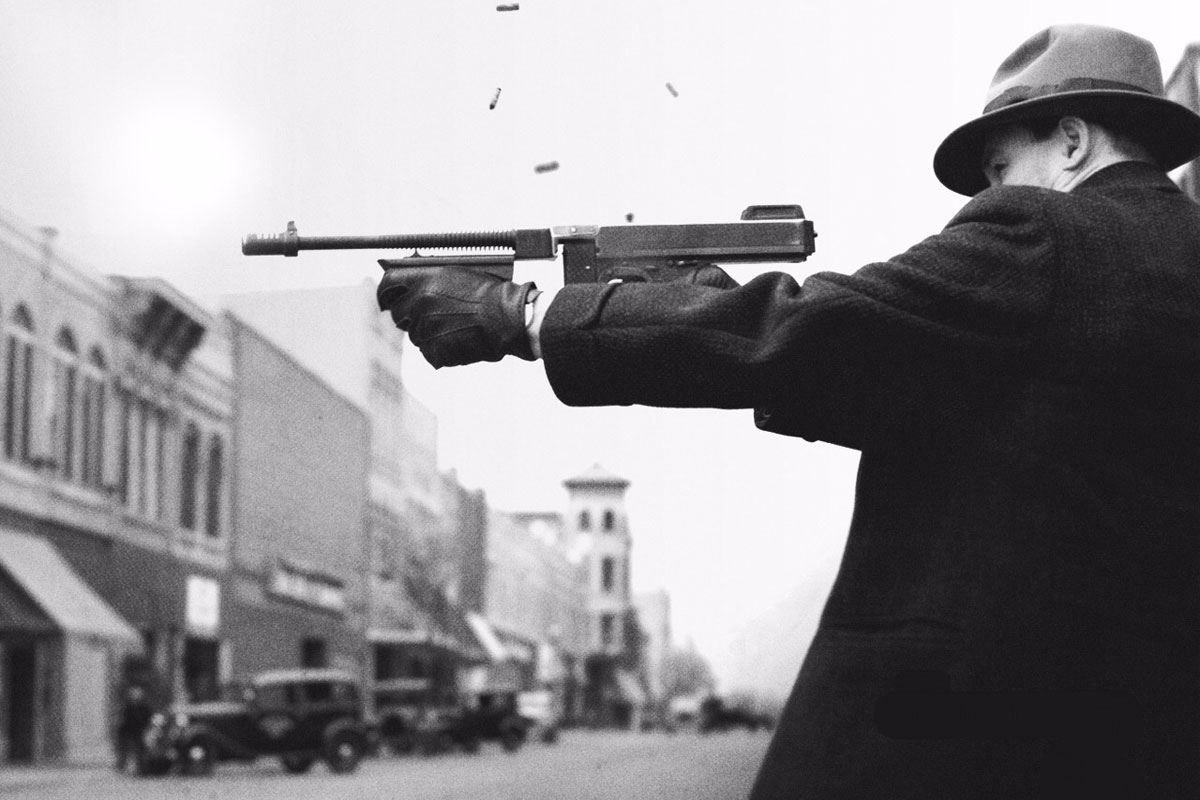 1920s Gangster Shooting