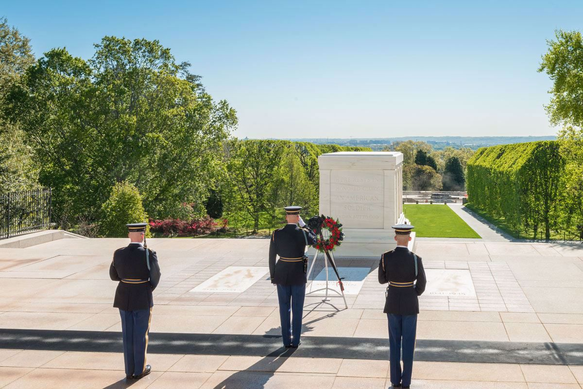 Visit the Tomb of the Unknown Soldier