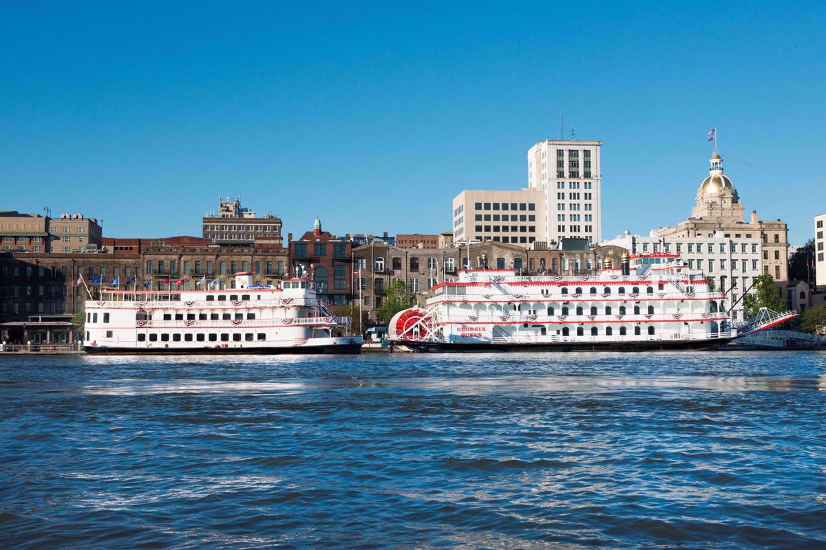 Savannah Riverboat Sightseeing Cruise