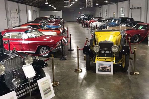 Over 30 classic cars on display
