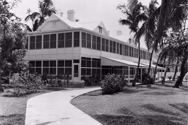 The house in 1949