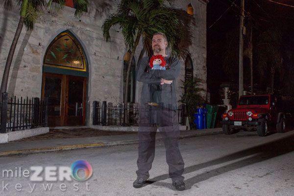 World famous paranormal investigator David Sloan