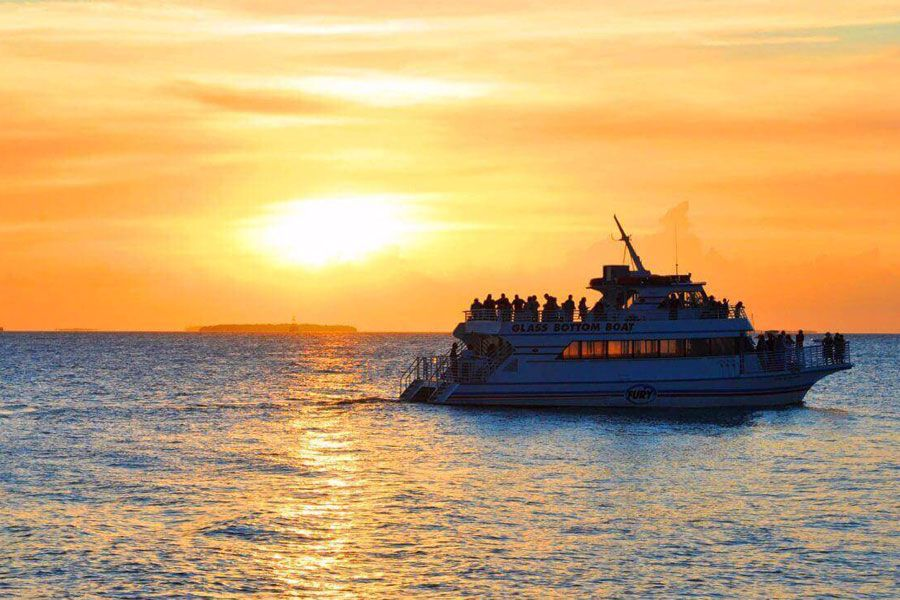 Glass Bottom Boat Sunset Cruise