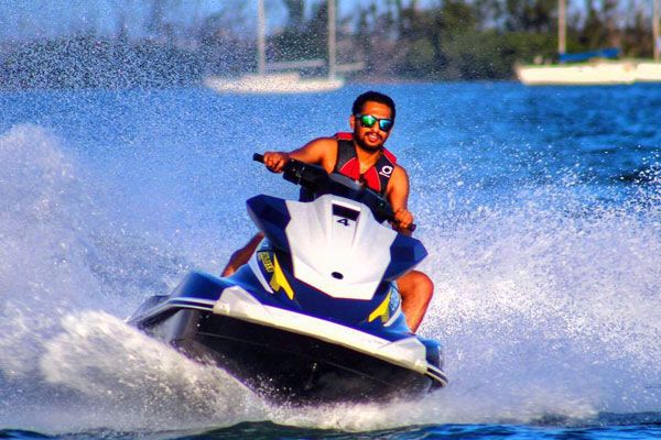 Ride the newest Waverunner