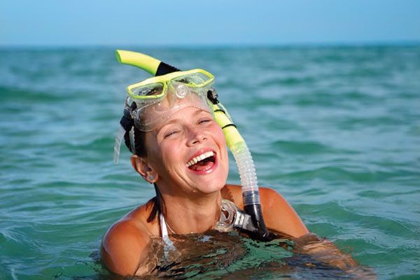 Enjoy Snorkeling in the pristine Gulf waters