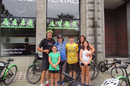 Tour de Boston Bike Tour