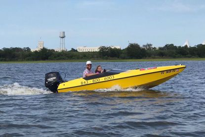 Charleston Speed Boat Adventure Tour