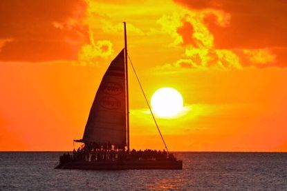 Key West's most popular sunset sail