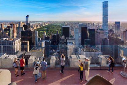 Top of the Rock Observation Deck Rockefeller Center