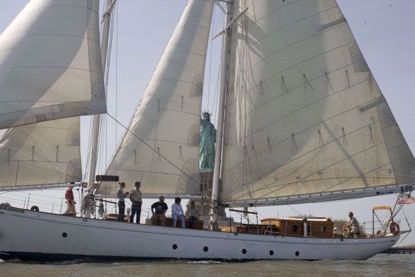 Sailing on the 82' SHEARWATER