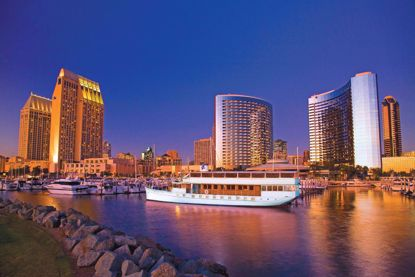 Cruise San Diego at Sunset