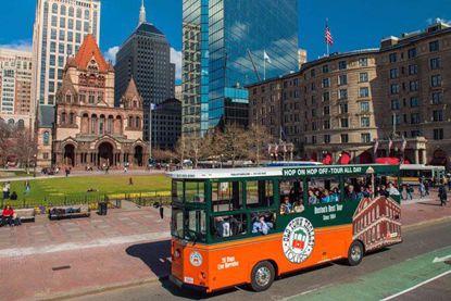Boston Old Town Trolley City Tour