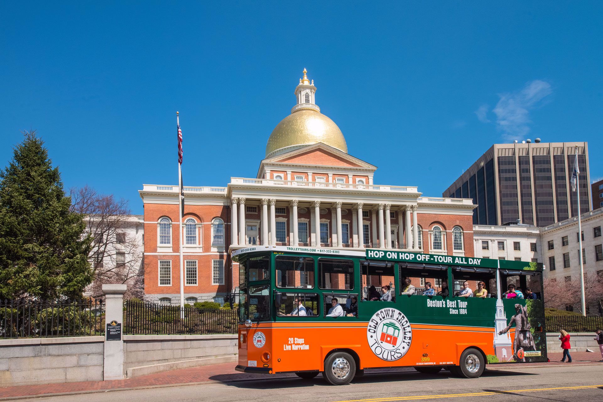 Boston Old Town Trolley Tours